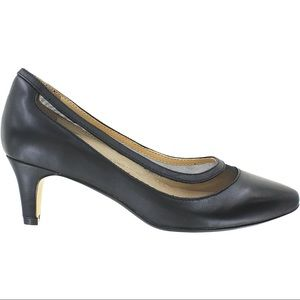 Ziera Voodoo Black Leather Pumps